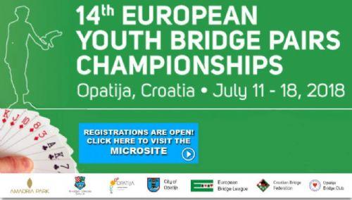Ungdoms-EM for par i Kroatia
