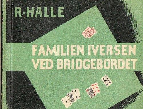 Familien Iversen ved bridgebordet