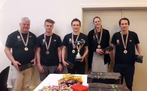Norge vant tre av fire klasser i Nordisk for ungdomslag