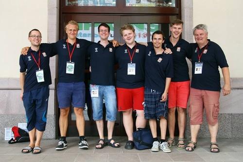 Norges juniorlag til VM-finale